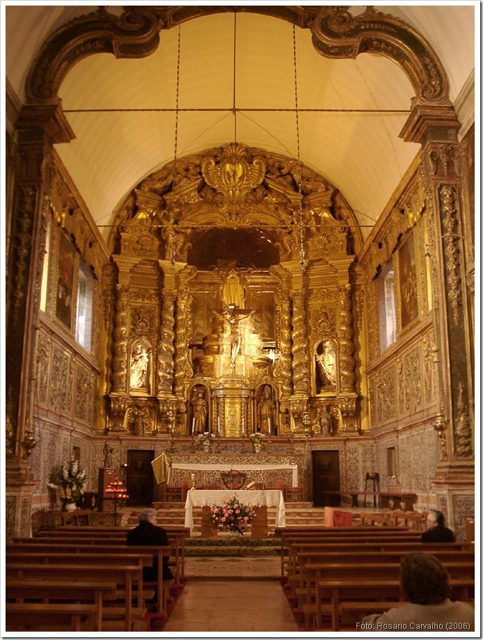 Santos-o-Novo -  Interior da Igreja - Foto IPPAR