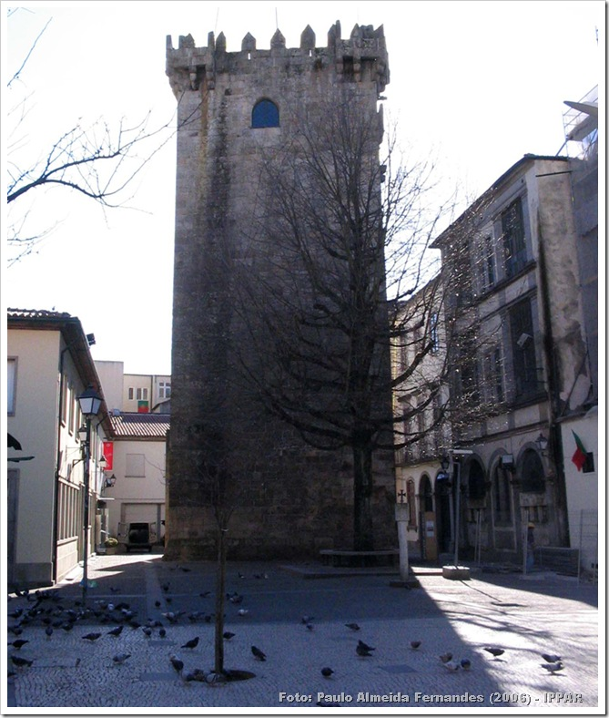 Braga - Torre Menagem - Paulo Almeida Fernandes (2006)-IPPAR