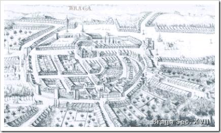 Castelo Braga Sec XVII