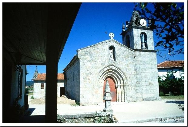 Igreja de Santa Maria ou de Nossa Senhora das Neves  1 - Lousada - Foto IPPAR
