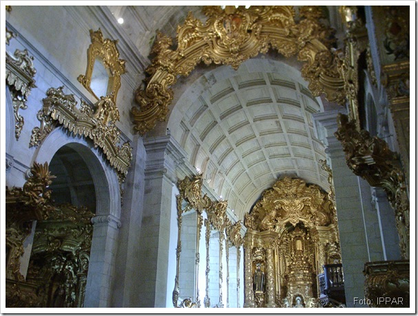 Interior da Igreja - IPPAR