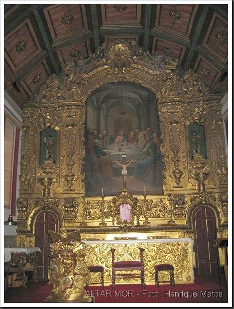 Matriz de Gondomar - Altar Mor - Foto Henrique Matos