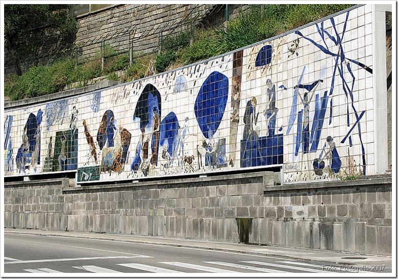 Ribeira Negra - Pintura - Foto Portogallo 2007