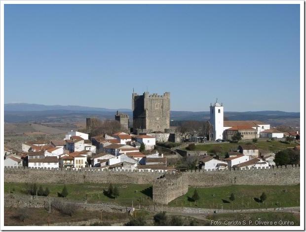 Castelo Braganca - Foto Carlota S P Oliveira e Cunha