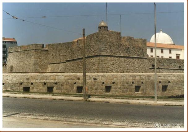 Forte São João Baptista da Foz - Porto - www.monumentos.pt