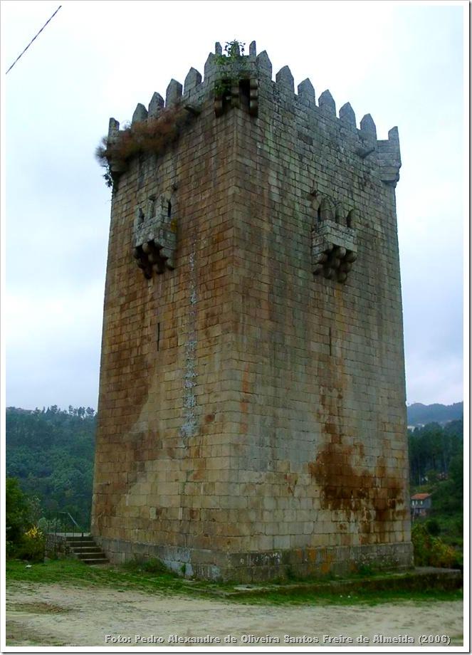 Torre da Quintela - Vila Real - Foto IPPAR - Pedro Alexandre de Oliveira Santos Freire de Almeida