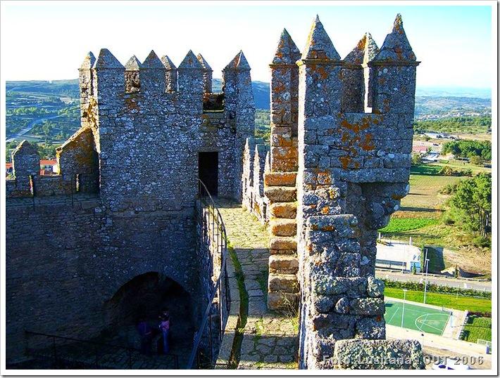 Castelo de Penedono - Viseu 1 - Foto Lusitana OUT 2006