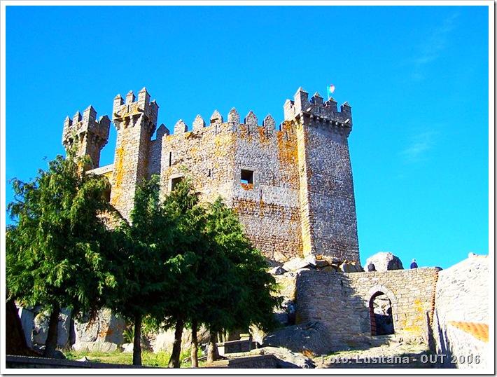 Castelo de Penedono - Viseu - Foto Lusitana OUT 2006