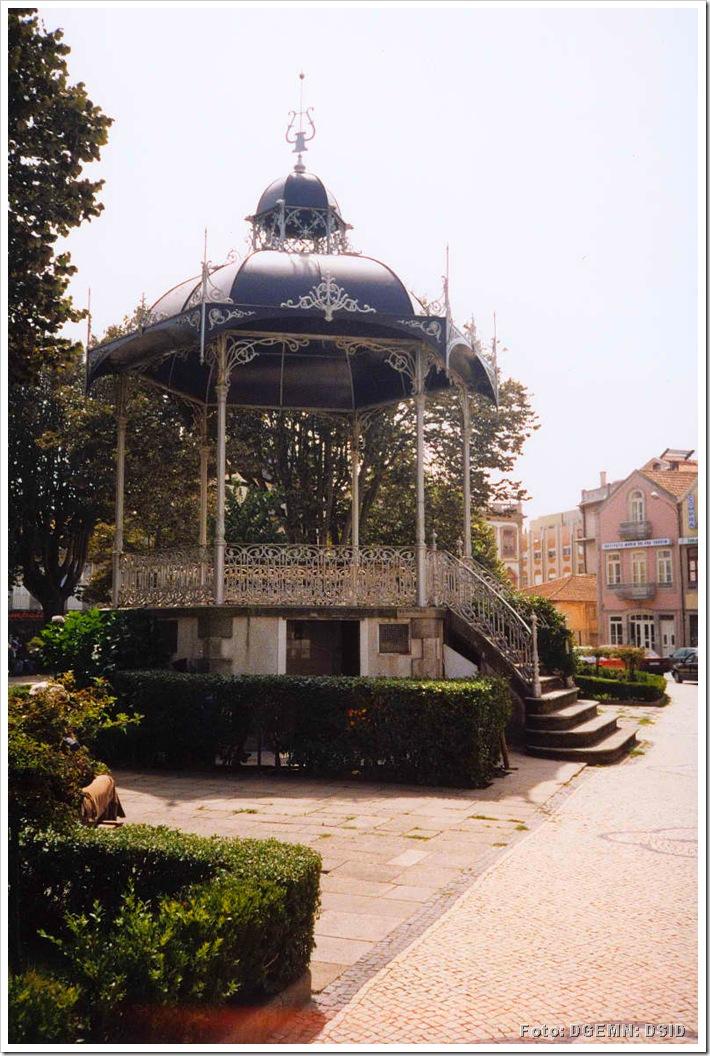 Coreto Praça do Almada - Povoa do Varzim - www.monumentos.pt