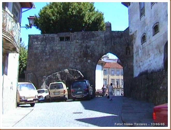 Muralhas Viseu 1 - Foto Nuno Tavares - 13-05-05