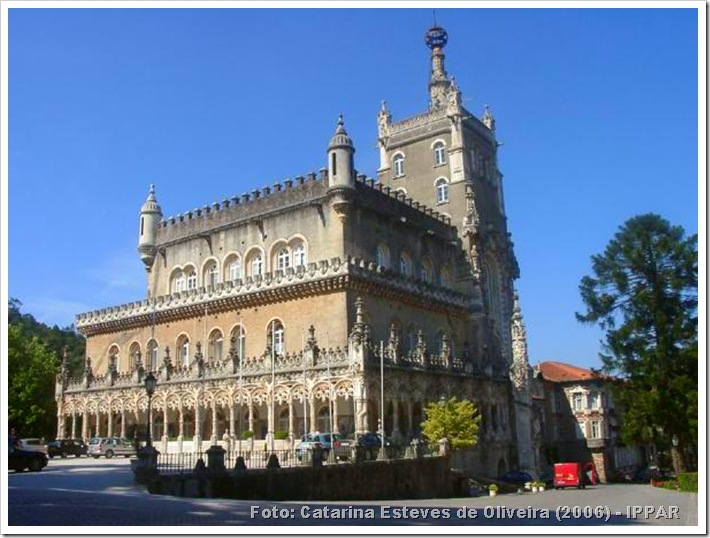 Palacio Hotel do Bussaco - Estarrega - Foto Catarina Esteves de Oliveira 2006 - IPPAR -1