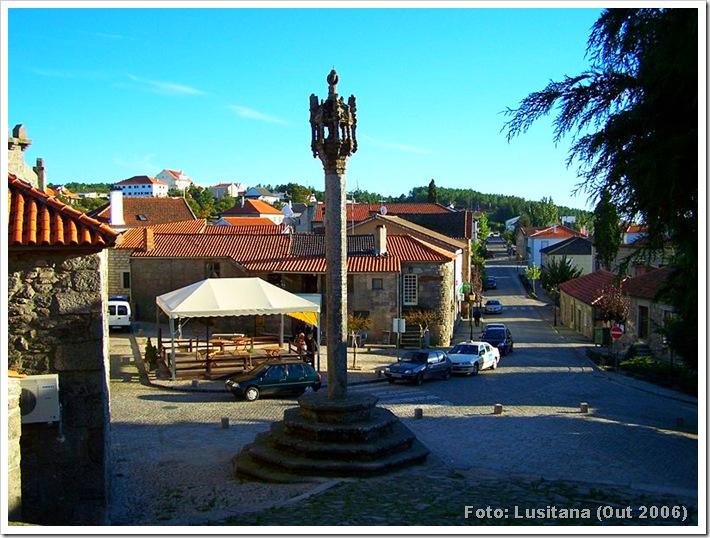 Pelourinho de Penedono - Viseu - Foto Lusitana OUT 2006