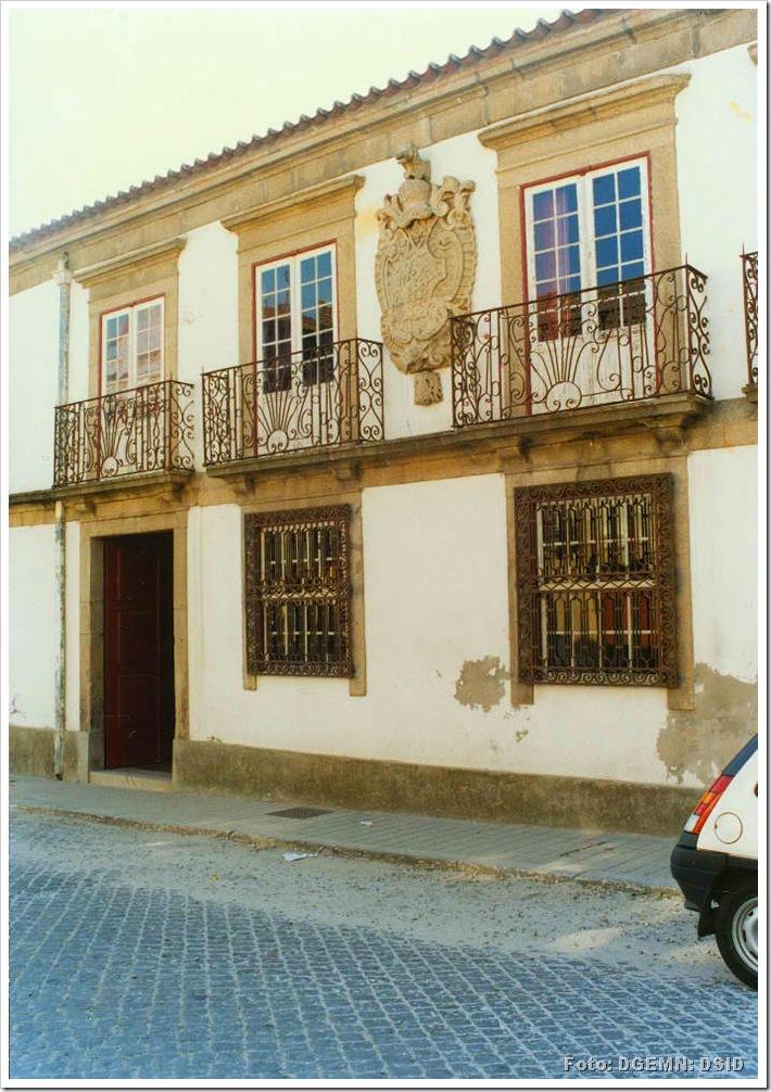 Solar dos Carneiros - Biblioteca Municipal da Póvoa do Varzim - Foto www.monumentos.pt