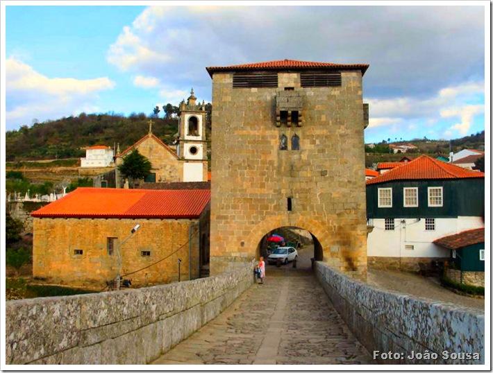 Torre de Ucanha - Viseu - Foto João Sousa 16-01-08