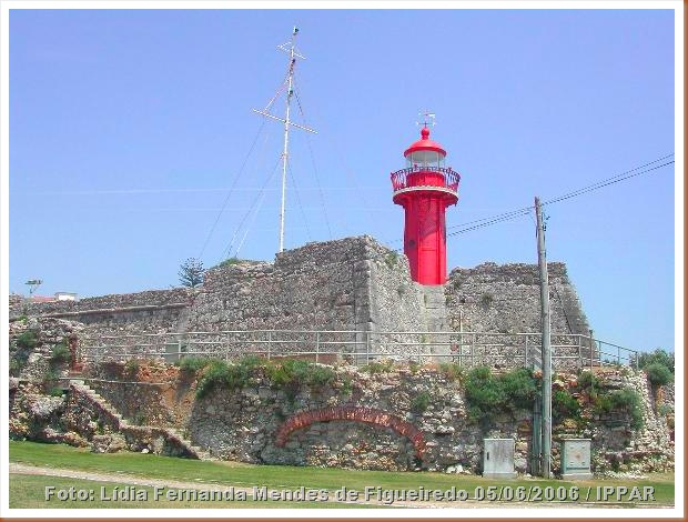 Forte Santa Catarina - F Foz - Coimbra - Foto Lidia Fernanda Mendes de Figueiredo 05-06-2006 - IPPAR