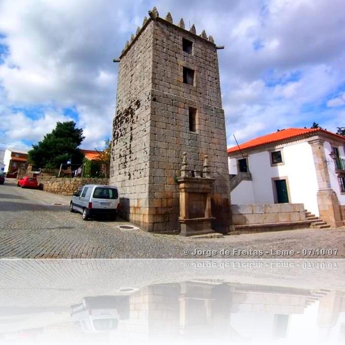 Torre do Relógio - Aguiar da Beira - Foto LEME