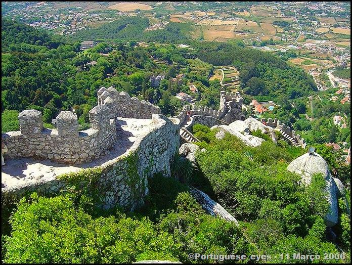 Castelo dos Mouros - Sintra 2