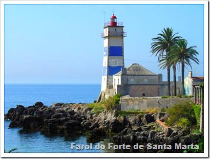 Farol do Forte de Santa Marta
