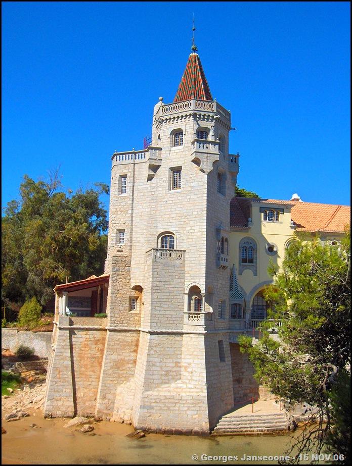 Torre de São Sebastião - Palácio dos Condes Castro Guimarães